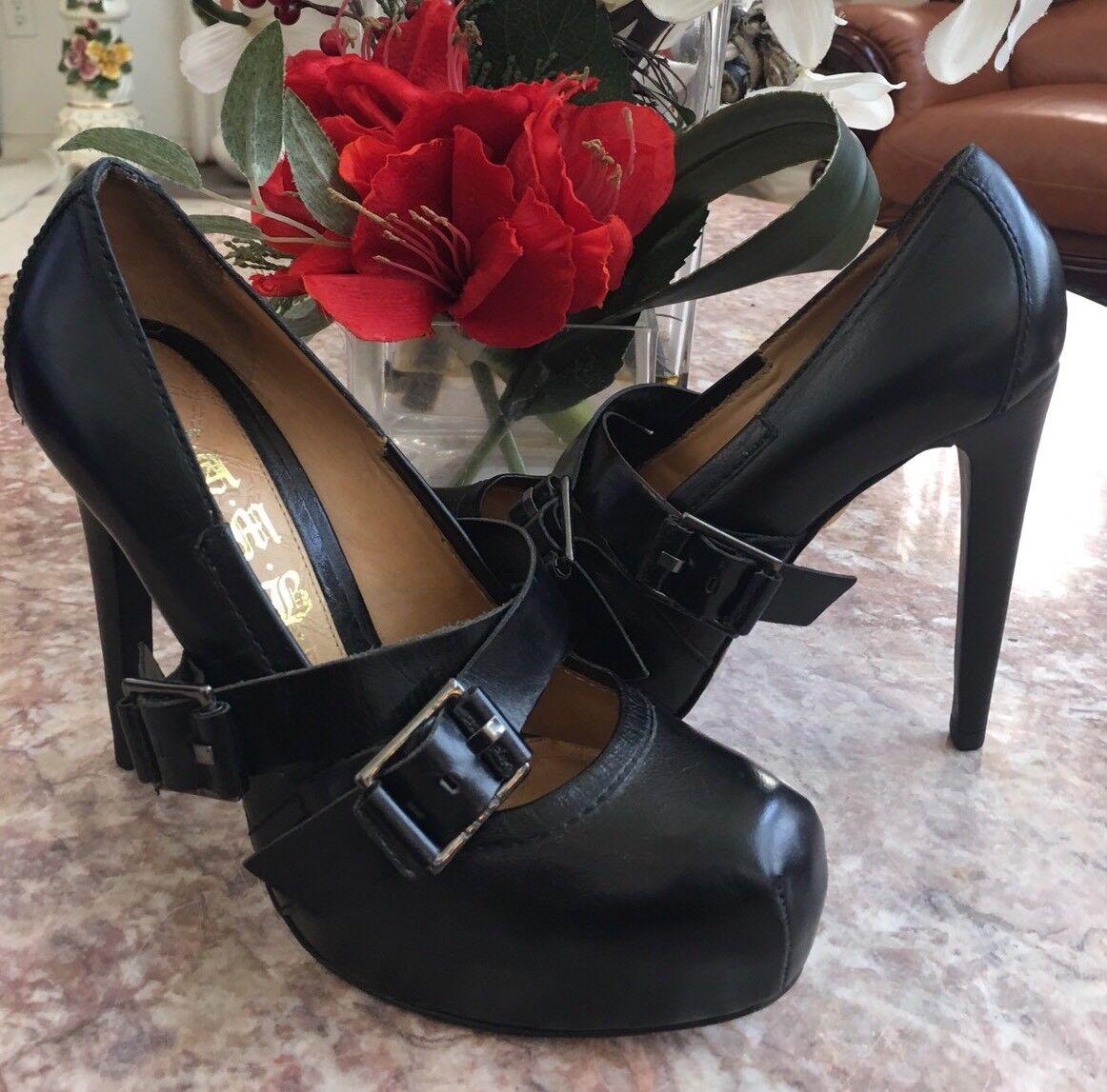 il miglior servizio post-vendita L.A.M.B. BY GWEN STEFANI nero Leather High Heel Pumps Dimensione Dimensione Dimensione 6.5 M EUC, MSRP  400  qualità di prima classe