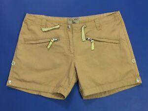 iceland-shorts-w30-tg-44-vita-bassa-trekking-mom-hot-corti-beige-leggeri-T2790