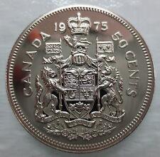 1975 CANADA 50 CENTS SPECIMEN HALF DOLLAR