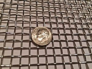 """t-304 Stainless Steel Mesh 304 #6 .035 Stainless Steel Wire Mesh 12/"""" x 12/"""""""