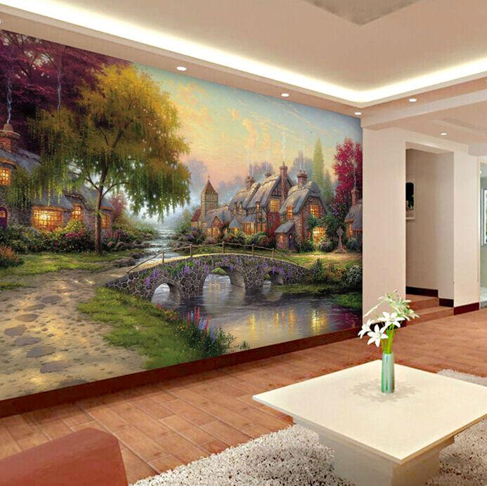 3D Rande der 804 Landschaft Fototapeten Wandbild Fototapete Bild Tapete Familie