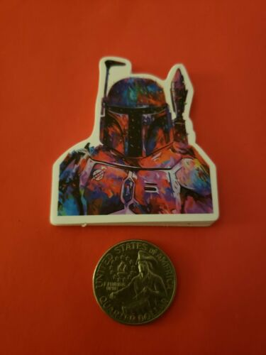 Star Wars Galaxy Boba Fett VINYL DECAL STICKER Jedi Sith Skywalker Mandalorian