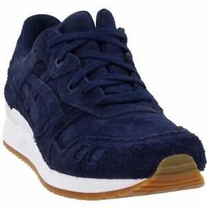 ASICS-GEL-Lyte-zapatos-atleticos-que-ejecutan-estabilidad-III-Azul-Marino-Para-Hombre