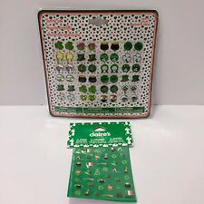 Sticker Earring Set St Patricks Day 24 Pairs Claires and Irish Mini Stickers