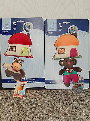 Sterntaler Spielzeug zum Aufhängen Kuh Karlotta 6631403 oder Maus Marbel ca 25cm | eBay