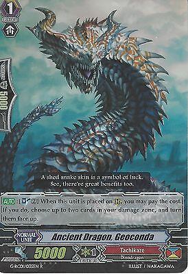 Rare Card V-BT01//035EN R Cardfight Vanguard Bellicosity Dragon
