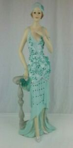 Art-Deco-Lady-Figurine-Ornament-Collectable-1920s-Style-58205-23-034-Height