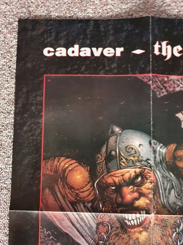 """Andet, Anden konsol, """"Cadaver: the payoff"""" plakat"""