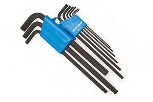 Park Tool HXS-1.2 Professional L-Shaped Hex Allen Wrench Set Bike 1.5-8mm /&10