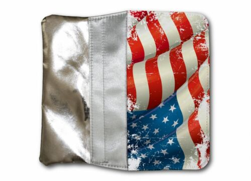 Borsa DA DONNA BORSA ARGENTO portafoglio Usa AMERICA 3