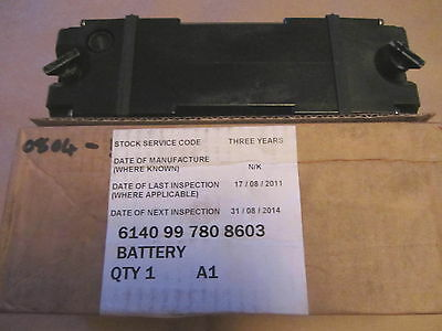 Racal Cougar radio 14 volt rechargeable battery. New unissued stock.