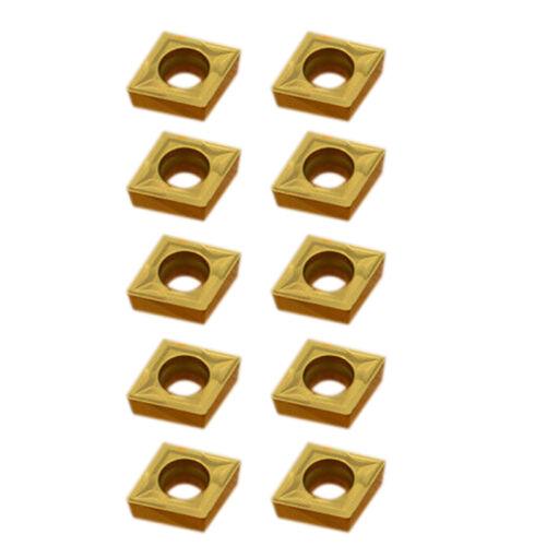 10//Kasten CCMT060204 Hartmetall Wendeschneidplatten Wendeplatten für Drehmeißel