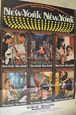 NEW YORK NEW YORK - FILMPLAKAT A1 - LIZA MINELLI - ROBERT DE NIRO -  AF619