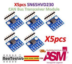 5pcs Sn65hvd230 Can Bus Communication Transceiver Module For Arduino