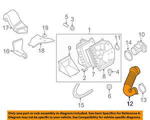 image is loading vw-volkswagen-oem-2005-passat-air-cleaner-intake-