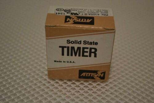ONE NEW ARTISAN INTERVAL TIMER 4300A-8-1.