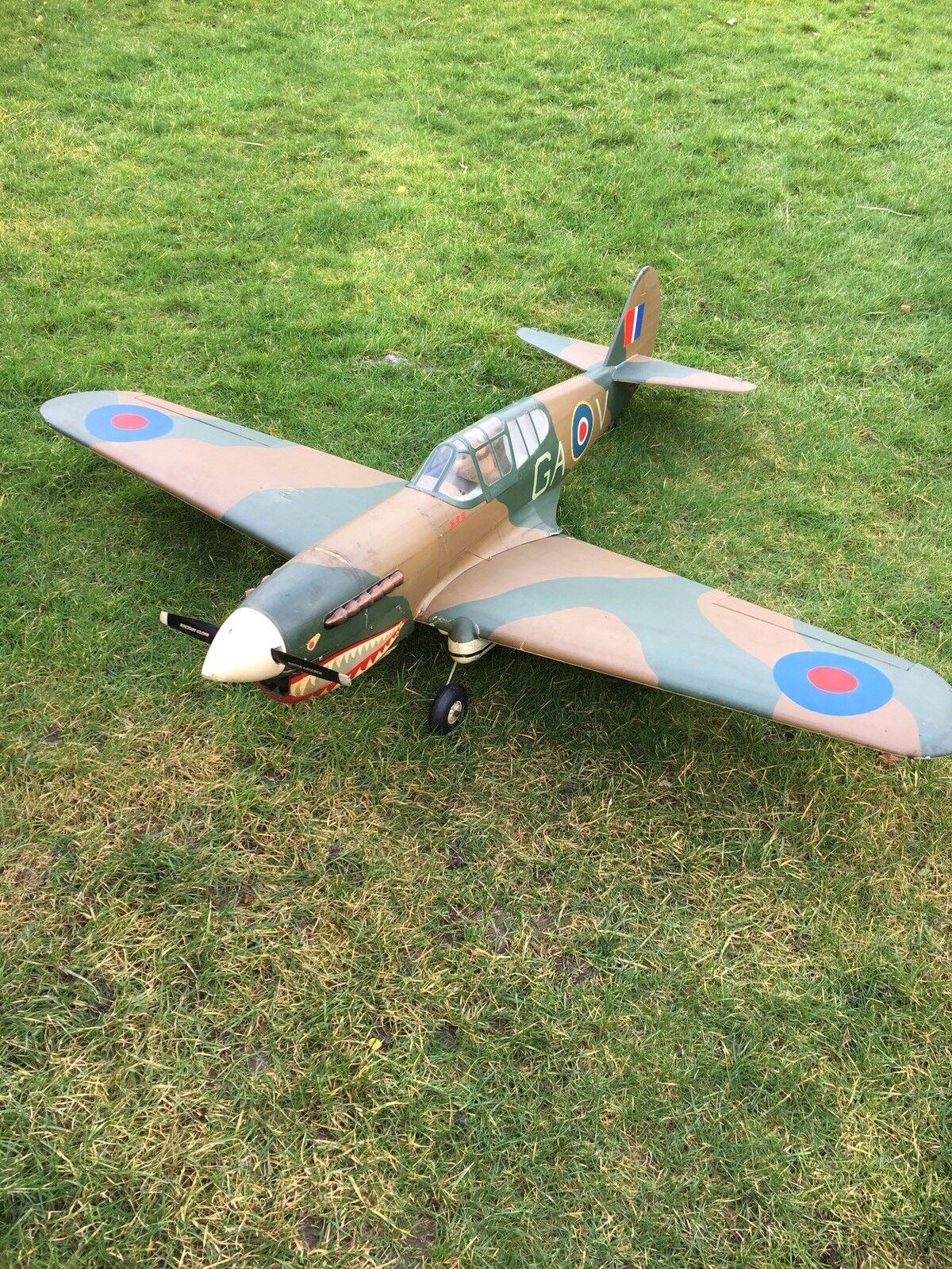P40 CURTISS WARHAWK RADIO CONTROLLED AIRCRAFT