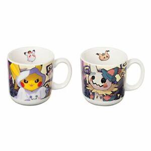 Pokemon-Center-Original-Coffee-Mug-Cup-Set-Pokmon-Halloween-Time