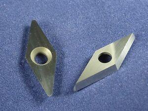 Diamond-Shape-Carbide-Cutter-Insert-10mm-39-034-X-28mm-1-10-034-Woodturning