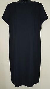 Ladies-size-16-Navy-Blue-Corporate-Office-Dress-Target-BNWOT