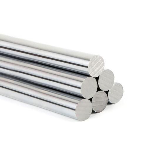 Durcissement 45# Acier Chromé Rond Barre Tige Rod Dia 4mm-50mm Longueur 100mm-1000mm