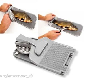 Folding fillet board with scaler fishing for Fish fillet board