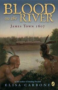 BLOOD-ON-THE-RIVER-by-Elisa-Carbone-a-Children-039-s-paperback-book-FREE-SHIPPING