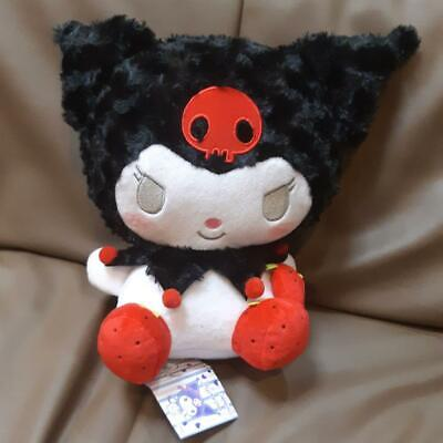 SANRIO My Melody KUROMI Plush Big Doll Red Strawberry Pochette Furyu Size 30cm
