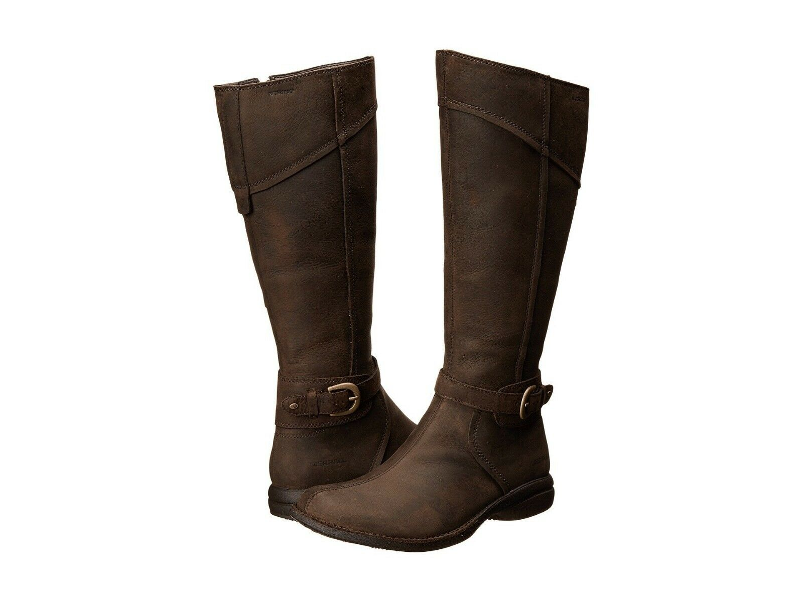 NEW Merrell Women's Women's Women's Captiva Buckle-Up Waterproof Boots, Size Women 5  220 60a1ca