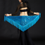 Belly-Dance-Costume-Sequins-Fringe-Triangle-Hip-Scarf-Belt-9-Colors miniature 8