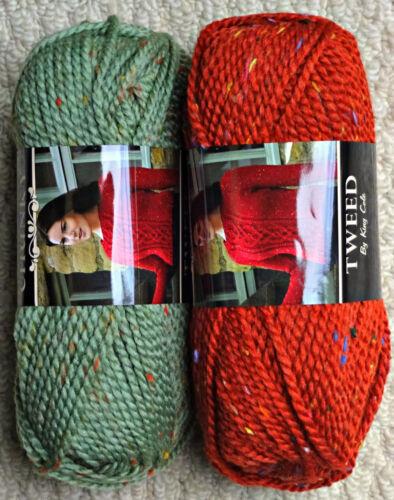 Tejer patrón cuello de encaje manga larga señoras puente Cárdigan /& Grueso 4741