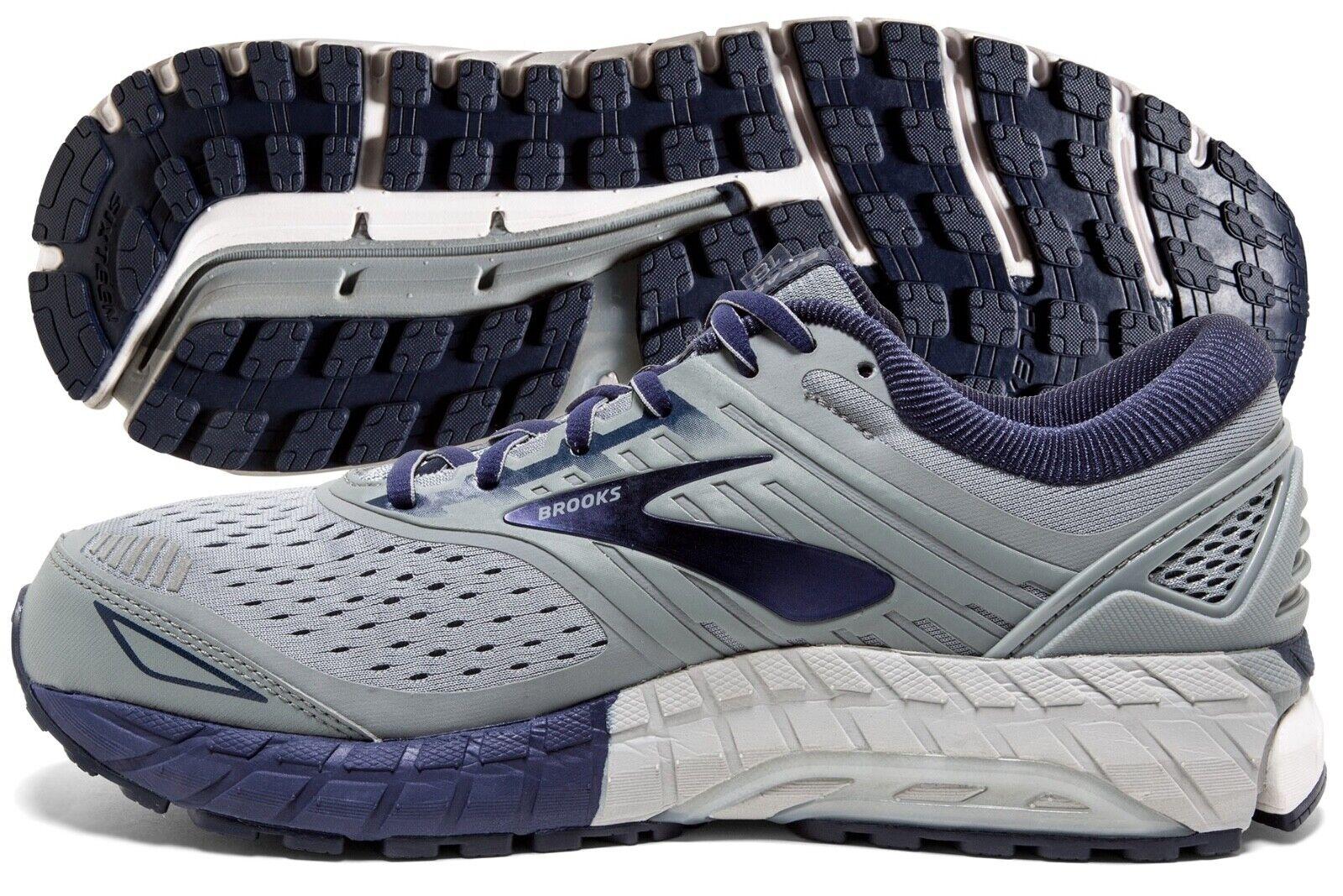 Brooks Beast 18 Mens Running Shoes Grey