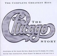 CHICAGO - THE CHICAGO STORY....THE COMPLETE GREATEST HITS: CD ALBUM (2002)
