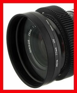 FRONT-Step-Up-RING-52-52mm-gt-80-80mm-O-D-for-LENS-to-MATTE-BOX-77mm-Duclos