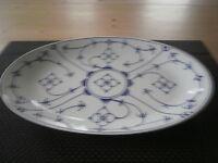 Winterling Porzellan Indischblau Platte Oval 28 Cm Neu