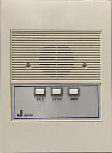 Jeron 2015 Apartment Intercom Station three button talk listen door