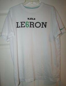 NBA-Lebron-James-Nike-Tee-Shirt-Size-Large