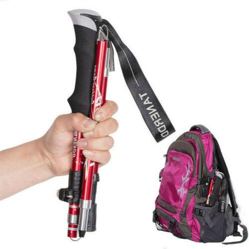 Anti Shock Nordic Walking Sticks Telescopic Cane Hiking Trekking Poles Foldable