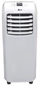 LG LP0815WNR - 8,000 BTU 110V Portable A/C: Remote & Window Vent Kit Included