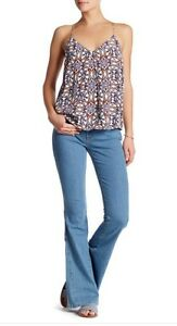 Rise Taille Mid Sea Joie 2 Jean Wash Denim Couleur Flare 26 Oqx558Bw4