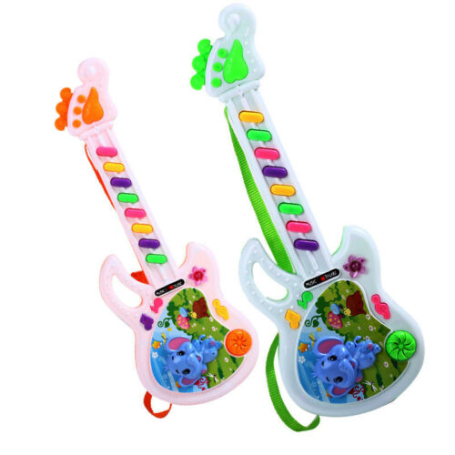Electric Guitar Toy Musical Play For Kids Toddler Learning Electron Toy Gift