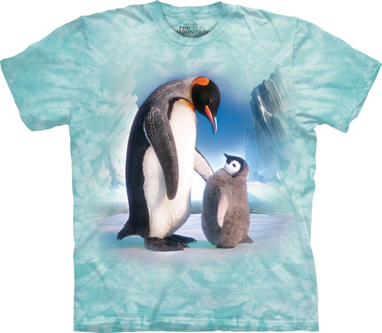 The Mountain Unisex Adult The Next Next Next Emperor Penguin T Shirt | Komfort