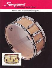 #MISC-0516 - VINTAGE SLINGERLAND RADIO KING SNARE DRUM ad sheet ( style 2 )