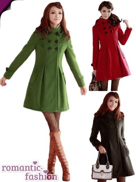 ♥Trendiger Mantel in Grün+Größe  32 bis 36  Neu +Sofort lieferbar♥