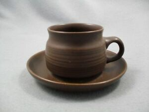 Denby-Mayflower-Cups-amp-Saucers-x-6-Free-UK-Postage