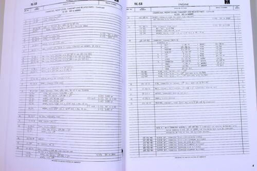 FARMALL 200 230 240 INTERNATIONAL 240 TRACTOR PARTS MANUAL CATALOG NUMBERS IH