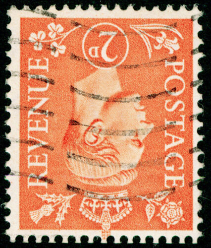 SG488Wi, 2d pale orange, FINE USED. WMK INV