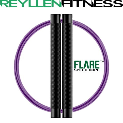 FLARE™ RPM CrossFit Speed Jump Rope with Dual Swivel Design WOD Training