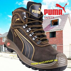 Puma Sierra Nevada S3 SRC Safety Midsole & Toe Cap Trainer Boots ...
