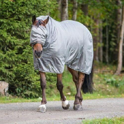 Horze Horse Pony Cob Spirit La Pampa Fly Full Body Sheet Hood Face Mask